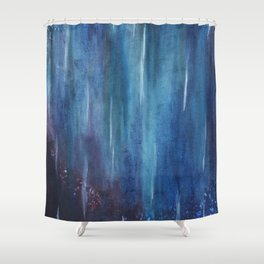 Falling Stars. Shower Curtain