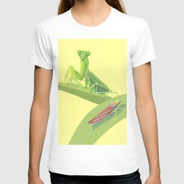 Mantis and Leafhopper T-shirt