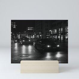 shoe city Mini Art Print