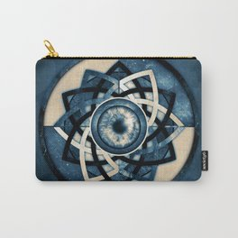 Cosmic Eye Mandala Carry-All Pouch