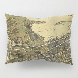 1878 Newport - Aquidneck Island, Rhode Island Lithograph Wall Art Pillow Sham