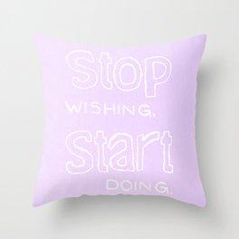 Start Doing - LILAC Throw Pillow