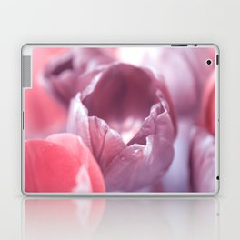 Tulips Carmine Laptop & iPad Skin