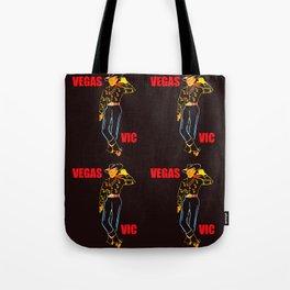 Vegas Vick pop art Tote Bag