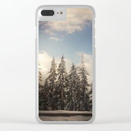 For the Love of Trees. Snoqualmie, Washington. Clear iPhone Case