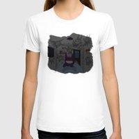 gengar T-shirts featuring Lurking Gengar by Sebast Hoyos