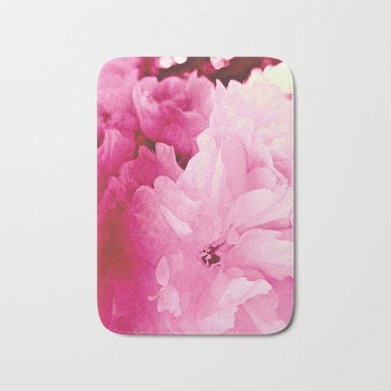 Plum Blossoms-Flowering For No One, No Reason Bath Mat