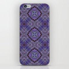 Purple Zen Doodle Pattern iPhone Skin