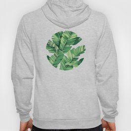 Tropical banana leaves VI Hoody