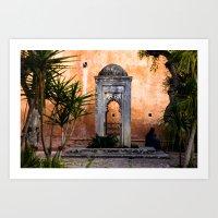 Morocco | Mysterious Medina  Art Print