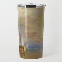 The Fighting Temeraire by J. M. W. Turner (1838) Travel Mug