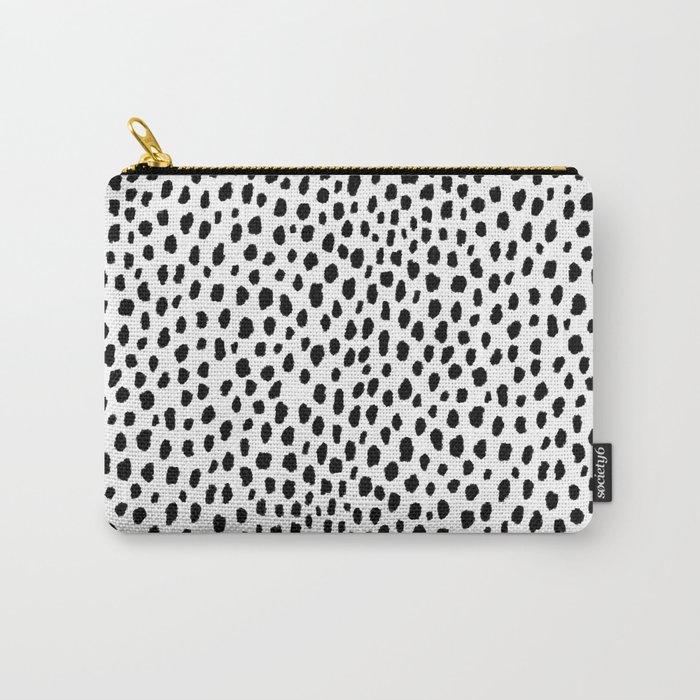 Dalmatian Spots (black/white) Tasche