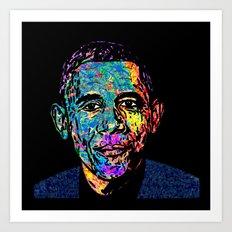the President Art Print
