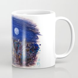 Midnight Paris Coffee Mug