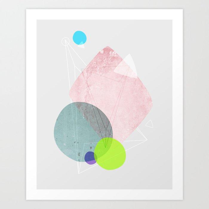 Graphic 123 Art Print