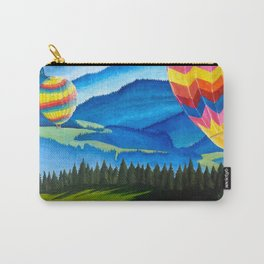 Acrylic Hot Air Balloons Carry-All Pouch