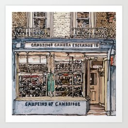 CAMPKINS Art Print