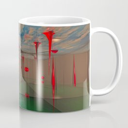 3d Digital Art Space Coffee Mug
