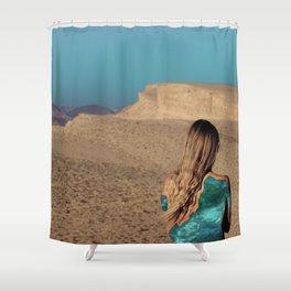Desert #3 Shower Curtain