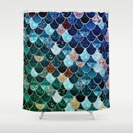 REALLY MERMAID TIFFANY Shower Curtain