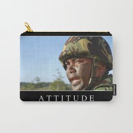 Attitude: Inspirational Quote and Motivational Poster Carry-All Pouch