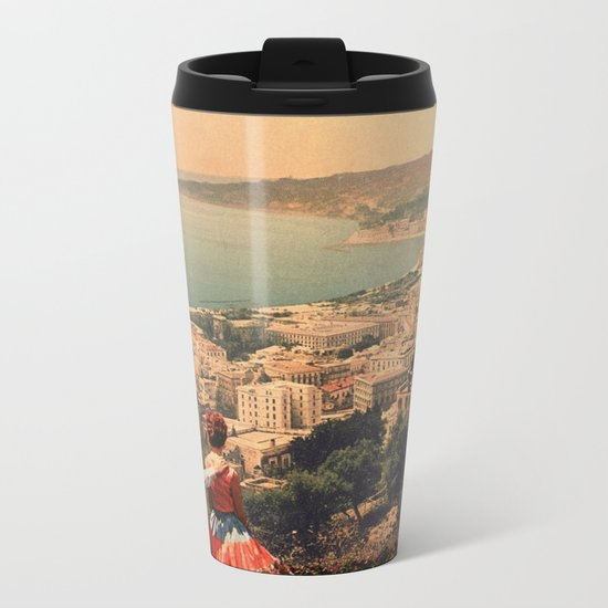 Is This The City We Dreamt Of Metal Travel Mug