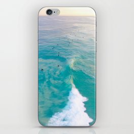Sunrise Surfers iPhone Skin