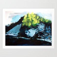 Cold Crush (St. Croix River) Art Print