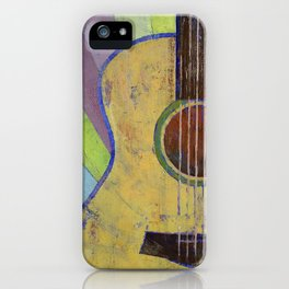 Sunrise Guitar iPhone Case