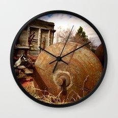 Old Mill Farm Equipment Wall Clock
