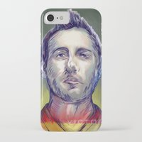 arsenal iPhone & iPod Cases featuring Cazorla by ArsenalArtz