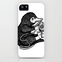 The Niffler & The Horcrux iPhone Case