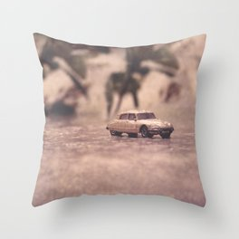 Julians Journey 6   in the midst of the storm Throw Pillow