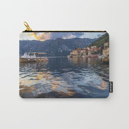 Sunset in Perast - Montenegro Carry-All Pouch