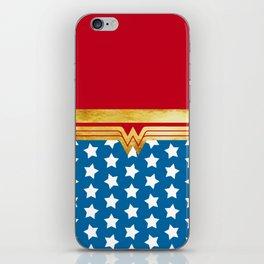 Wonderwoman Super Hero Inspired iPhone Skin