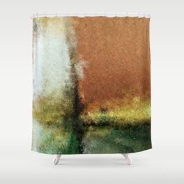 Focal Point Digital Painting Shower Curtain