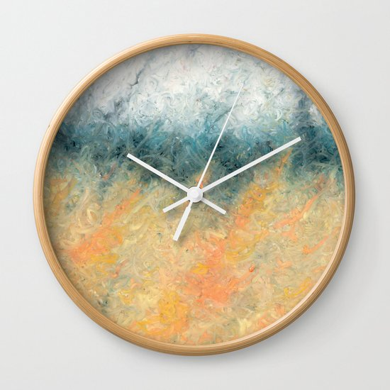 The Day's Deal With The Coming Night Wall Clock