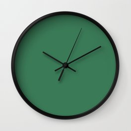 Amazon - Green Color Wall Clock
