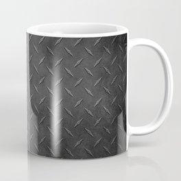 Rustic Metal Diamond Plate Coffee Mug