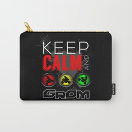 Keep Calm and GROM, Red Carry-All Pouch
