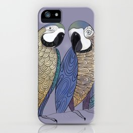 Macaw gabfest iPhone Case