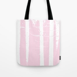 Pink Forest Pattern Tote Bag