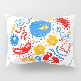Primary soup Pillow Sham