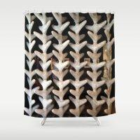 bones Shower Curtains featuring Bones by Larry Fulton