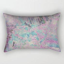 Purple and Blue Textures Rectangular Pillow