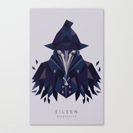 Eileen the crow - Bloodborne Canvas Print