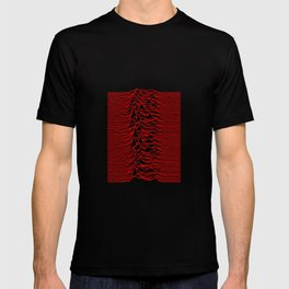 Joy Division - Unknown Pleasures [Red Lines] T-shirt