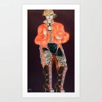 Neon Beast #2 Art Print