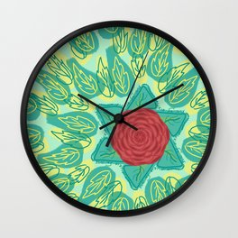 Erev Shel Shoshanim Wall Clock