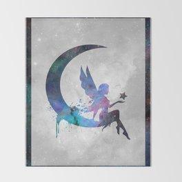 Galaxy Series (Fairy) Throw Blanket